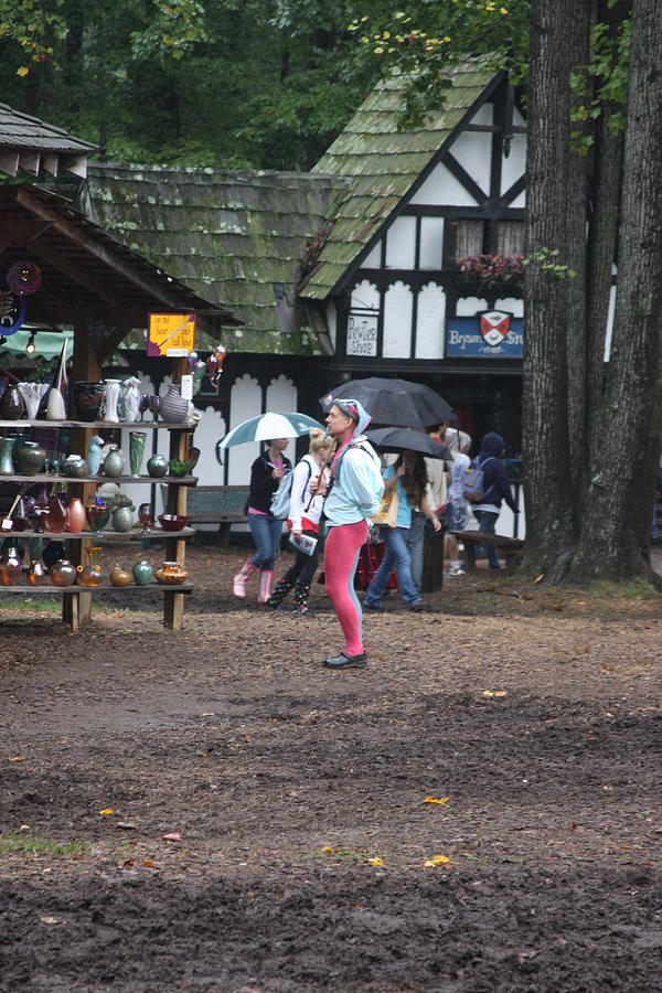 Maryland Renaissance Festival - A Fool Named O - 121231 Photograph