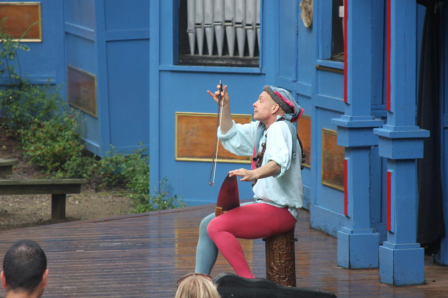 Maryland Photograph - Maryland Renaissance Festival - A Fool Named O - 121232 by DC Photographer