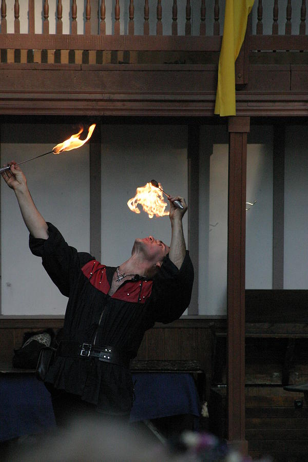 Maryland Renaissance Festival - Johnny Fox Sword Swallower - 1212105 Photograph