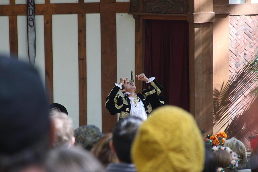 Maryland Renaissance Festival - Johnny Fox Sword Swallower - 121257 Photograph