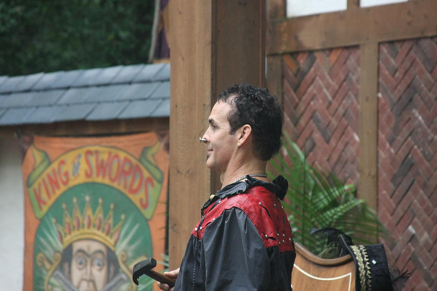Maryland Renaissance Festival - Johnny Fox Sword Swallower - 121271 Photograph