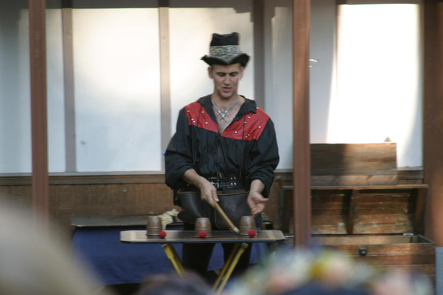 Maryland Renaissance Festival - Johnny Fox Sword Swallower - 121281 Photograph