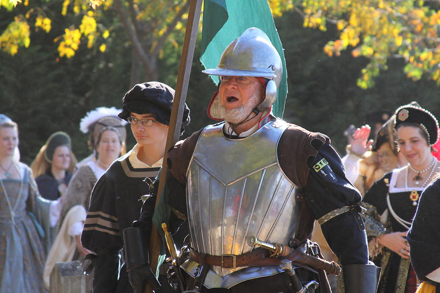 Maryland Renaissance Festival - Kings Entrance - 12123 Photograph