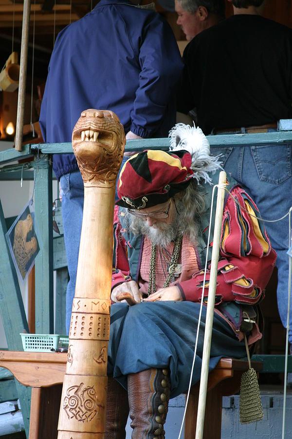 Maryland Renaissance Festival - Merchants - 121256 Photograph