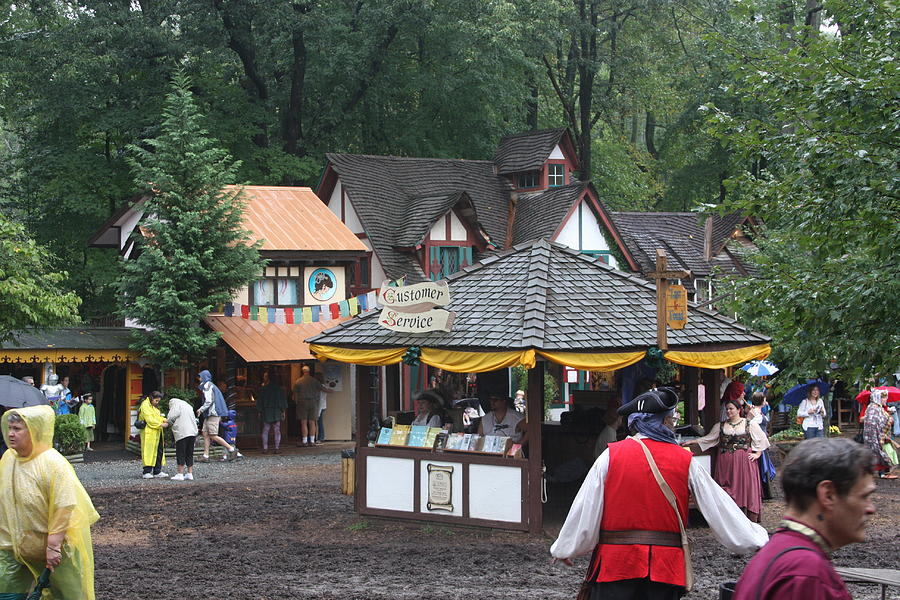 Maryland Renaissance Festival - Merchants - 121266 Photograph  - Maryland Renaissance Festival - Merchants - 121266 Fine Art Print