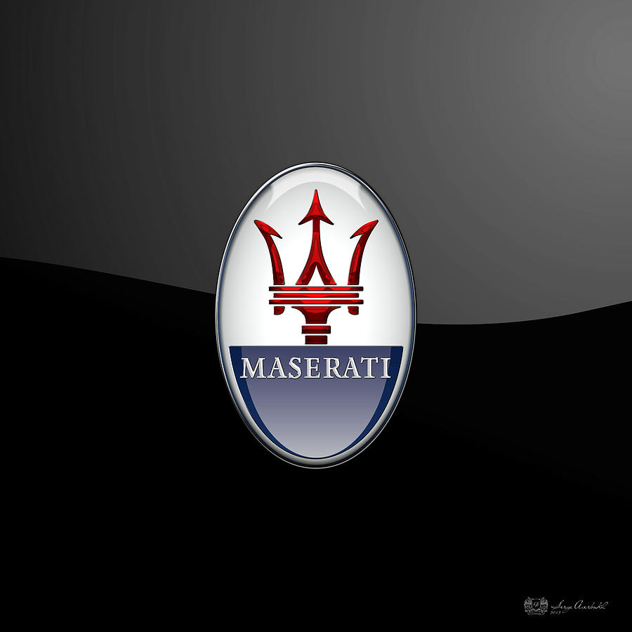 Top Maserati Symbol Images For Pinterest Tattoos