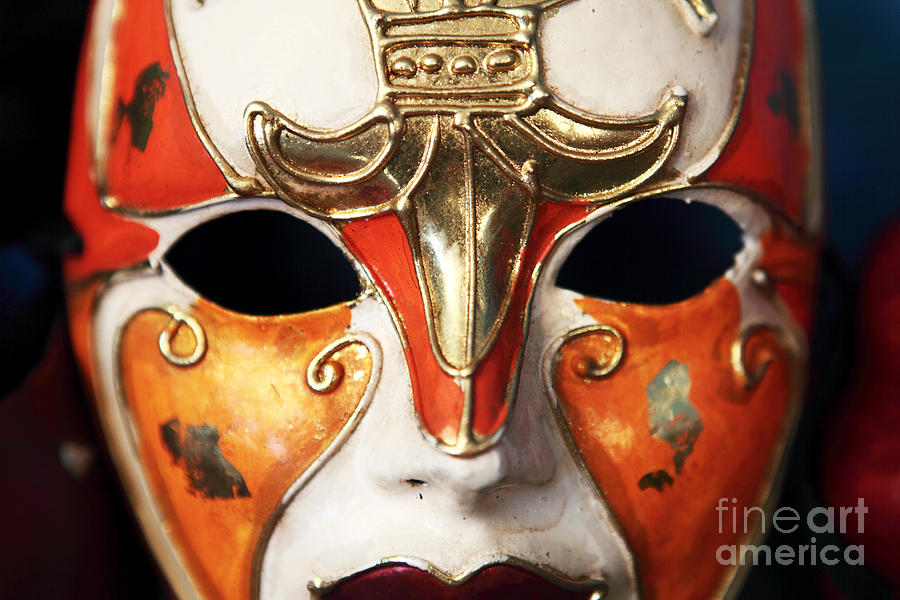 Still Life Photograph - Mask by John Rizzuto