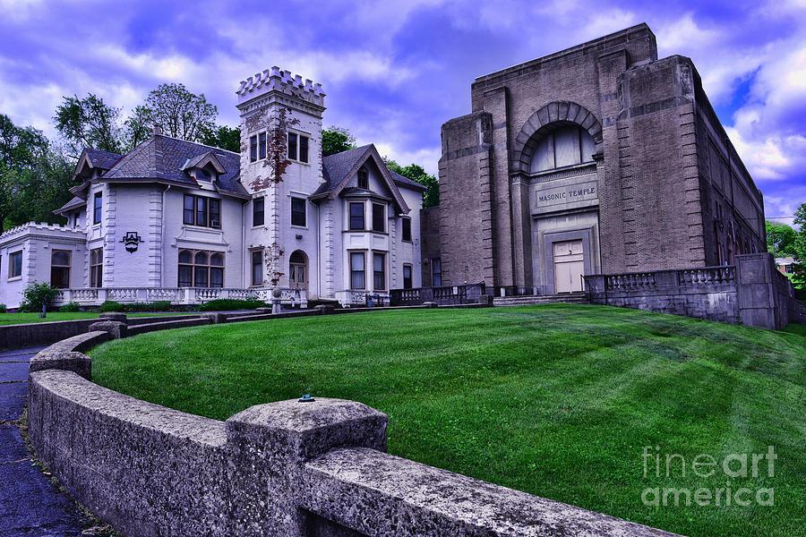Paul Ward Photograph - Masonic Lodge by Paul Ward