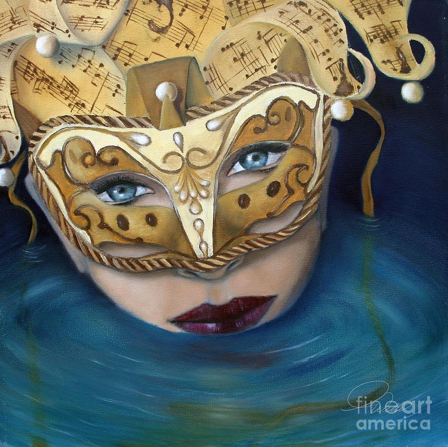 Masquemermaid Painting