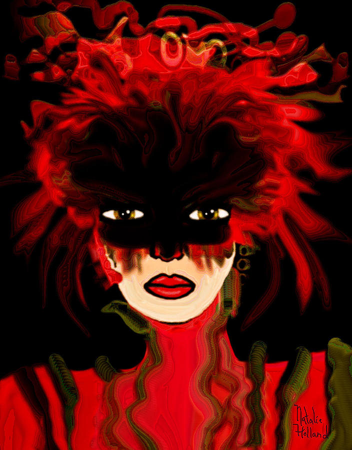 Masquerade Ball Mixed Media  - Masquerade Ball Fine Art Print