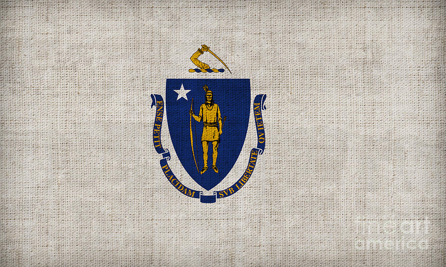 Massachusetts State Flag Painting