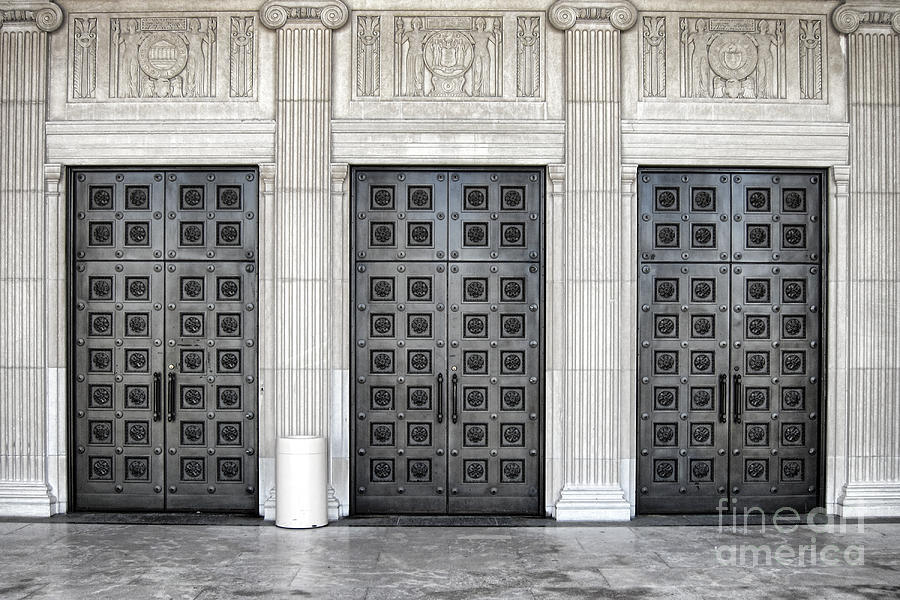 Massive Doors Photograph