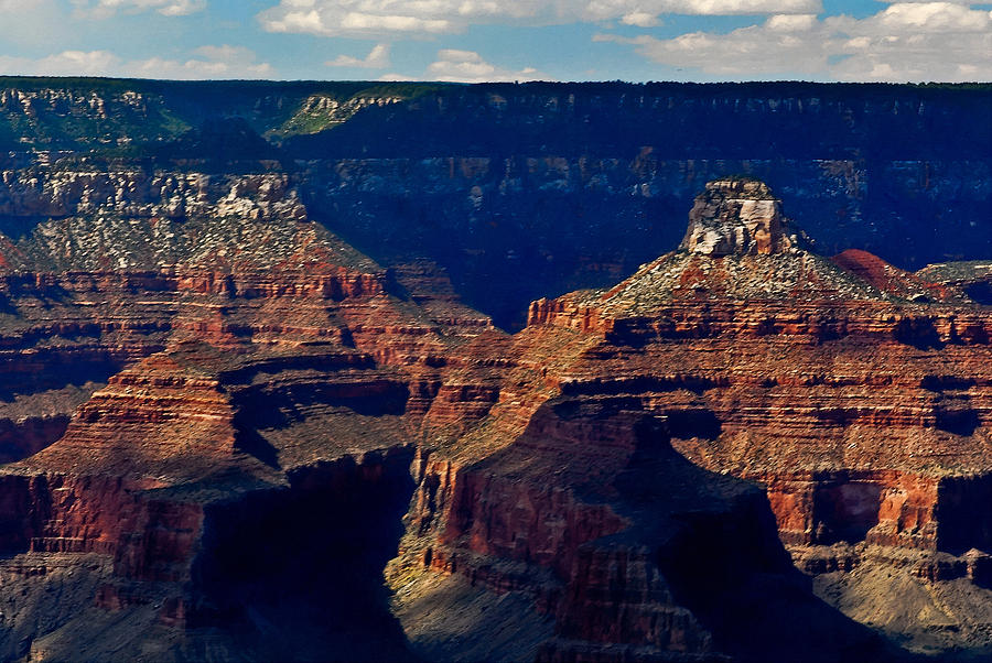 Mather Point Grand Canyon Digital Art  - Mather Point Grand Canyon Fine Art Print