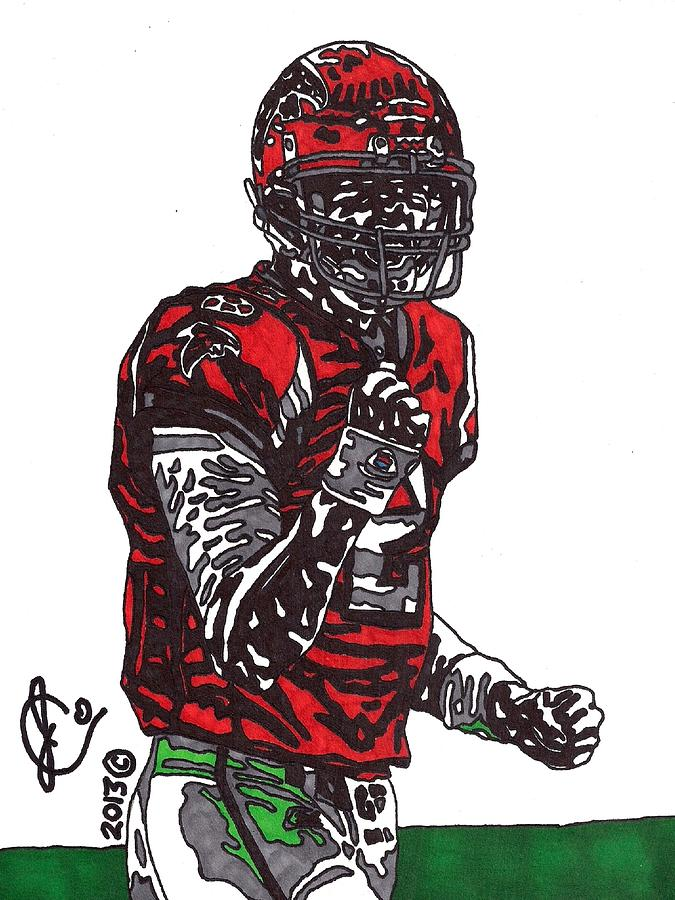 Matt Ryan Drawing  - Matt Ryan Fine Art Print