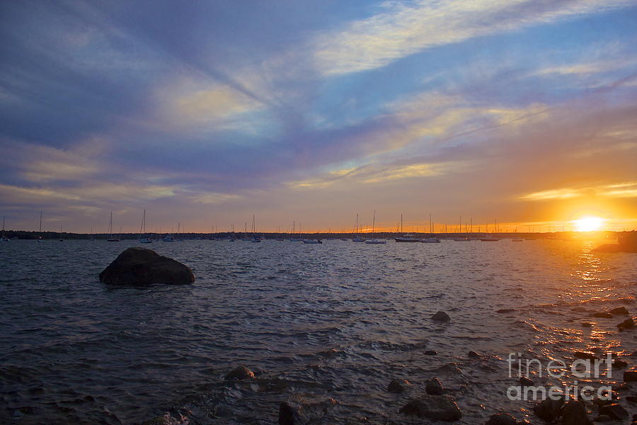 Mattapoisett Sunset Photograph  - Mattapoisett Sunset Fine Art Print