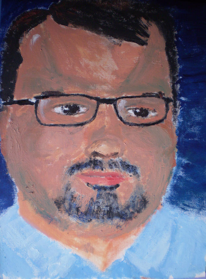 Matthew Good Painting - Matthew Good by Rob Spencer