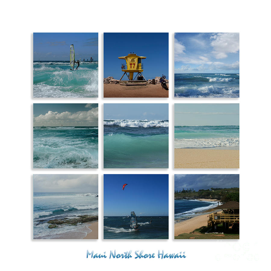 Aloha Photograph - Maui North Shore Hawaii by Sharon Mau