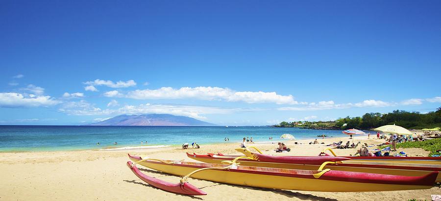 Maui Outriggers Photograph