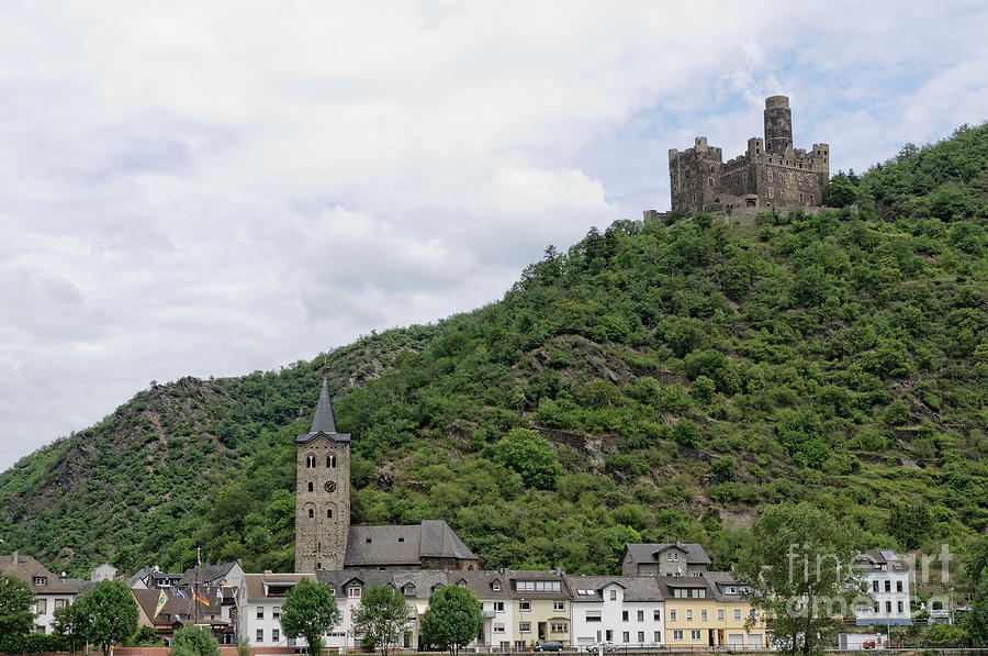Maus Castle In Germany Photograph  - Maus Castle In Germany Fine Art Print