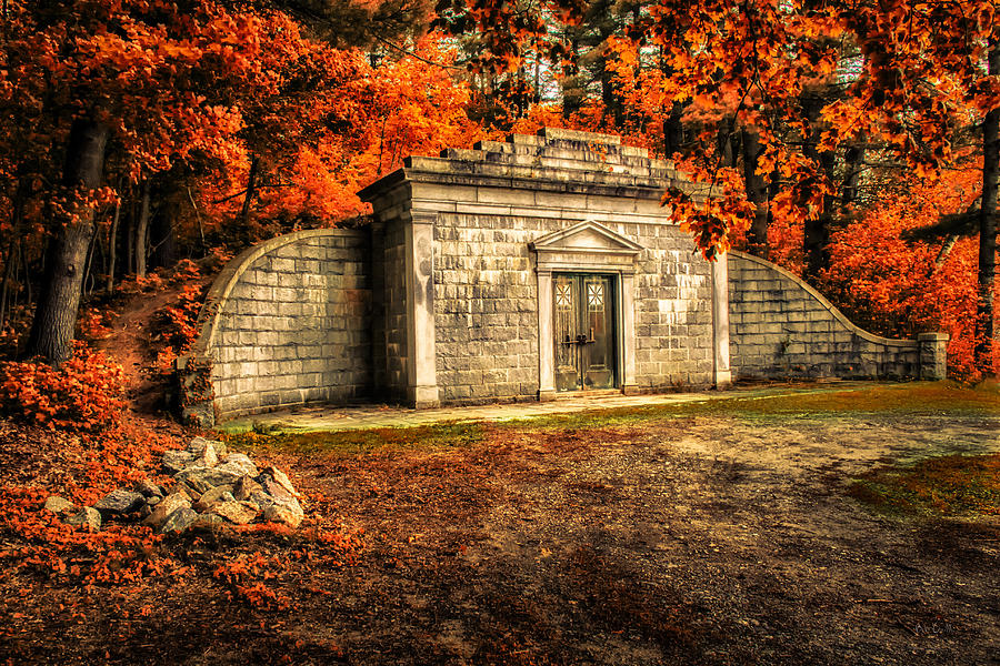 Mausoleum Photograph - Mausoleum by Bob Orsillo
