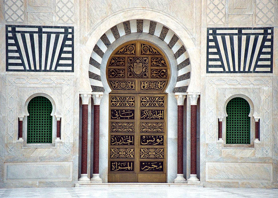 Mausoleum Doors Photograph