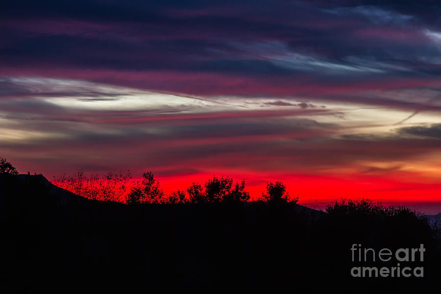 Max Patch Sunset Photograph  - Max Patch Sunset Fine Art Print