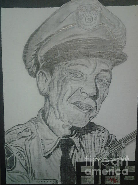 Mayberry Deputy Drawing