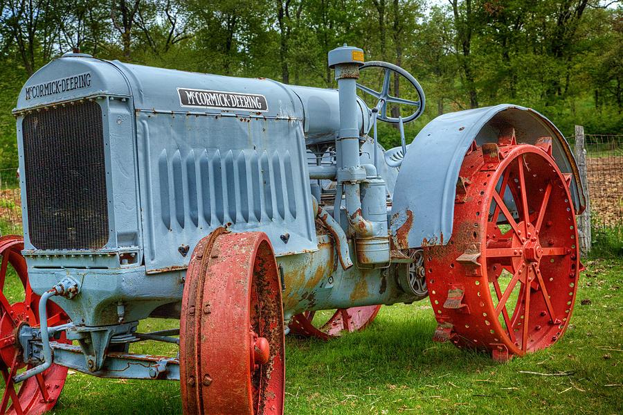John Deere Photograph - Mccormick Deering by Bill  Wakeley