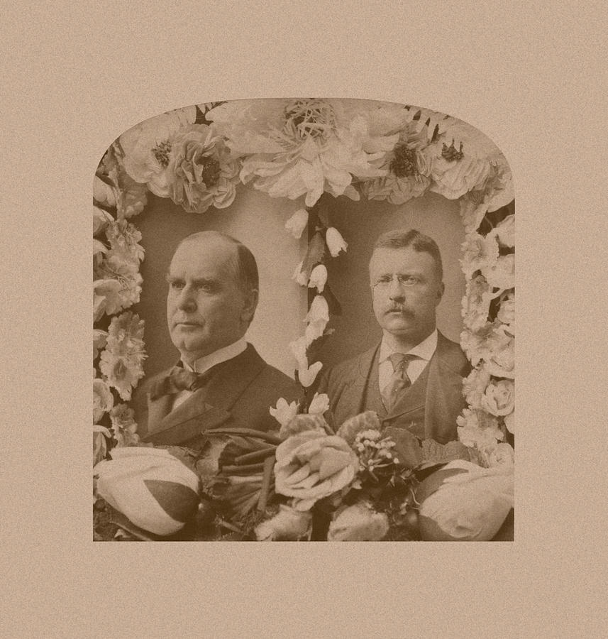 Mckinley And Roosevelt Photograph