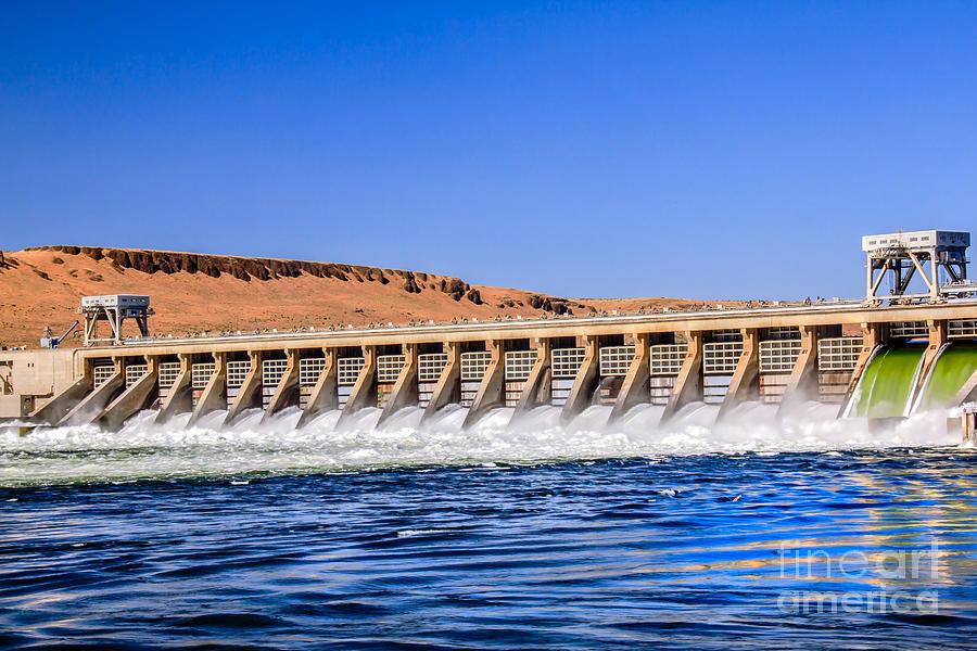 Dam Photograph - Mcnary Dam by Robert Bales