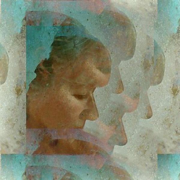 Woman Digital Art - Me Myself And I by Gun Legler
