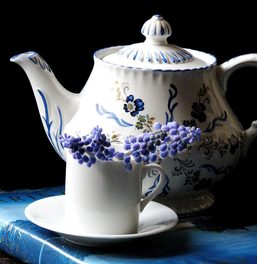 Tea Pots Photograph - Me Time by Angela Davies