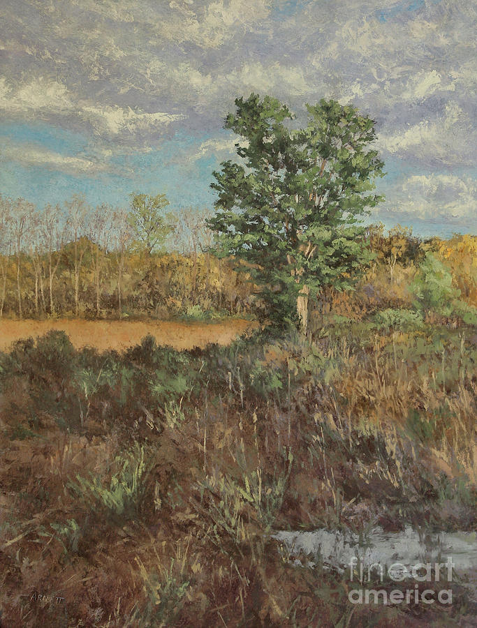 Meadow In The Hollow - May Painting