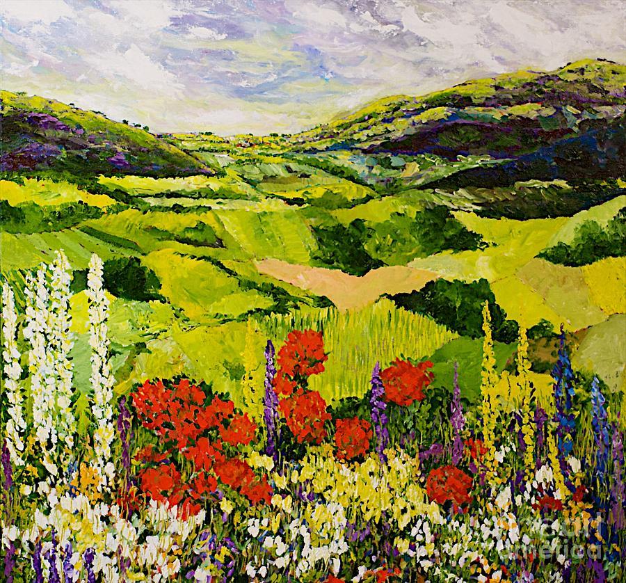 Meadow Lark Painting
