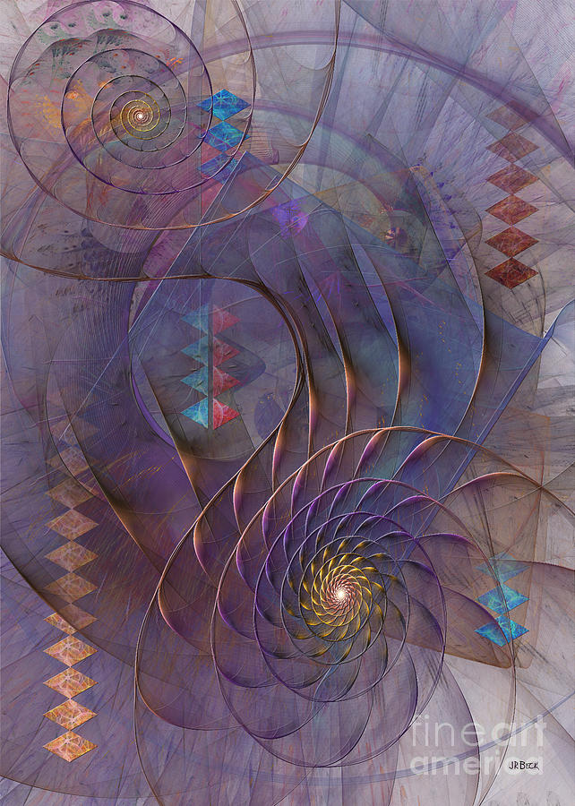 Meandering Acquiescence Digital Art  - Meandering Acquiescence Fine Art Print