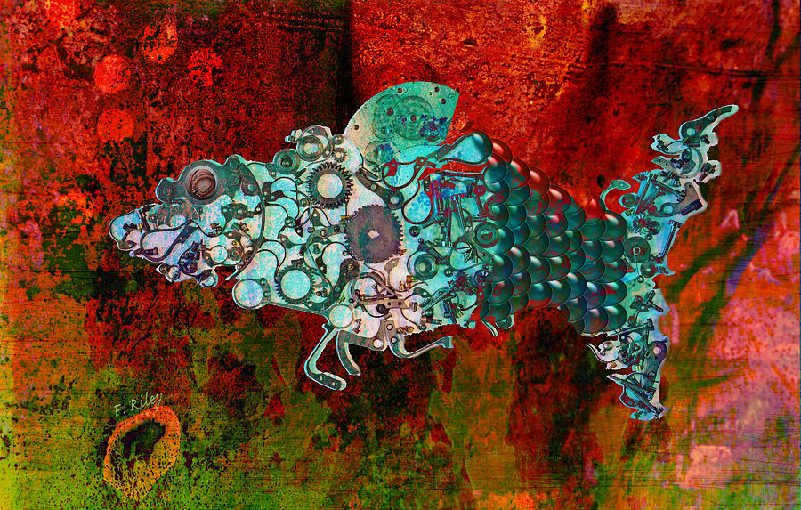 Mechanical - Fish Digital Art