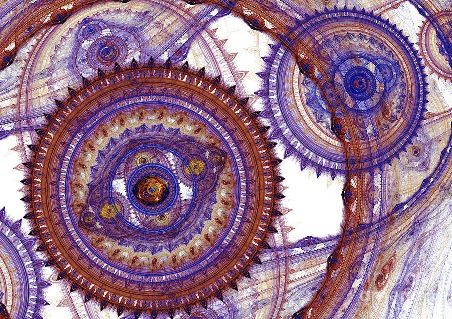 Mechanical Fractal Digital Art
