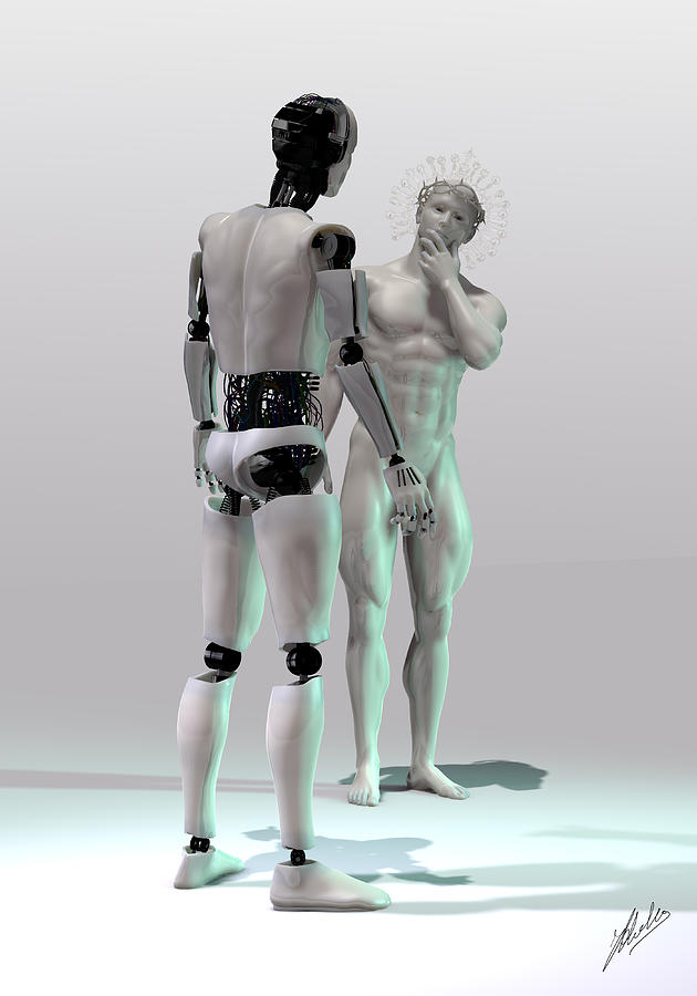 Mechanical Gods Creation Digital Art