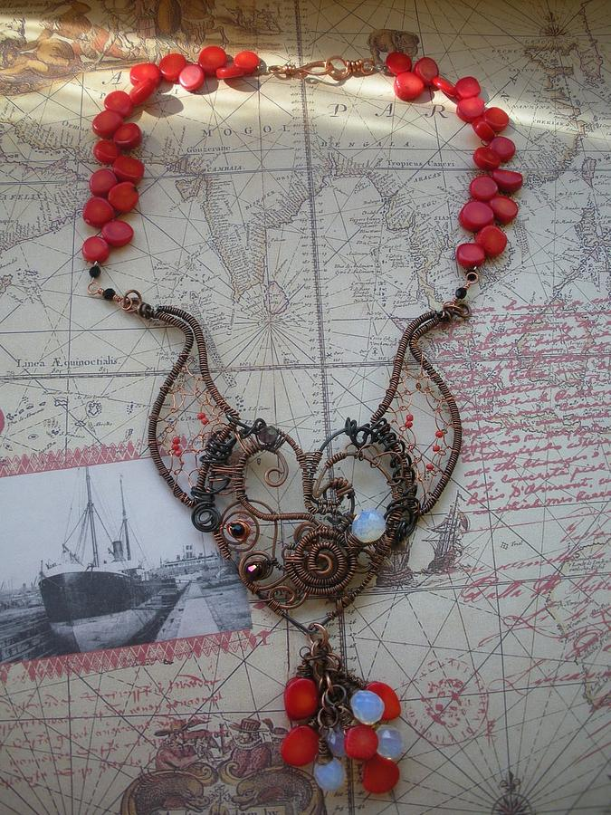 Hand Made Jewelry - Mechanical Heart by Teresa