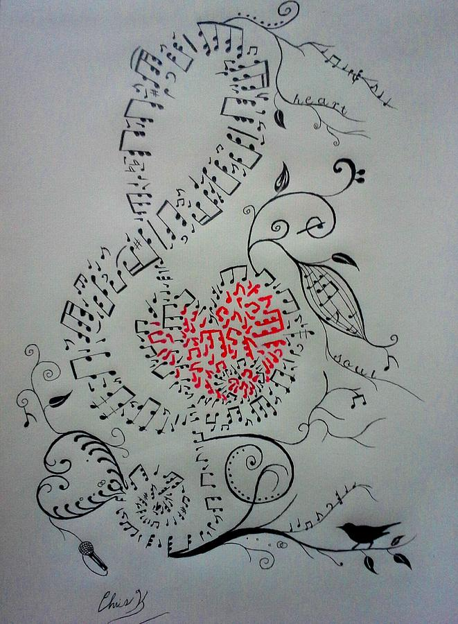 Medicine For The Soul Drawing