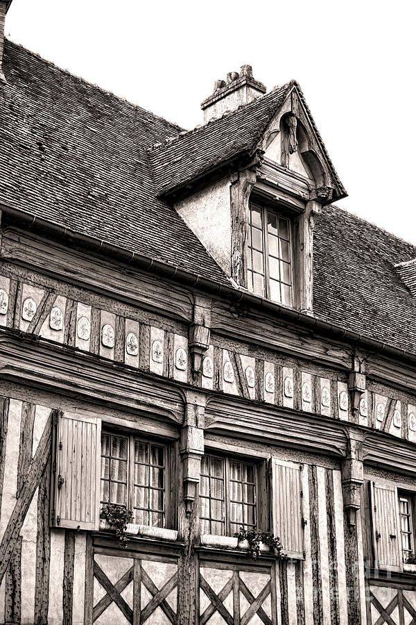 France Photograph - Medieval House by Olivier Le Queinec