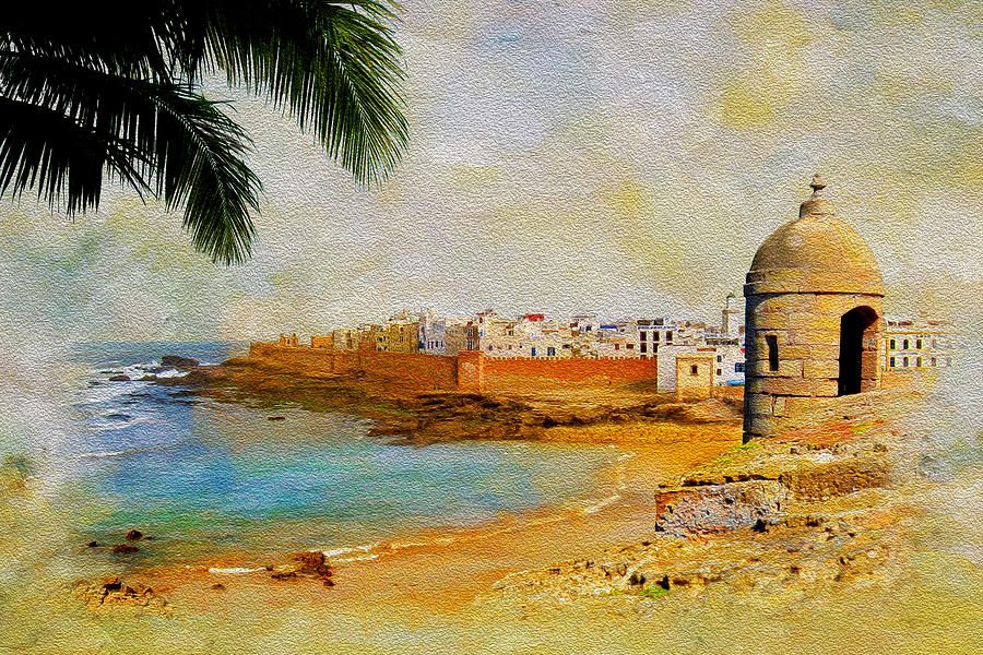 Medina Of Tetouan Painting  - Medina Of Tetouan Fine Art Print