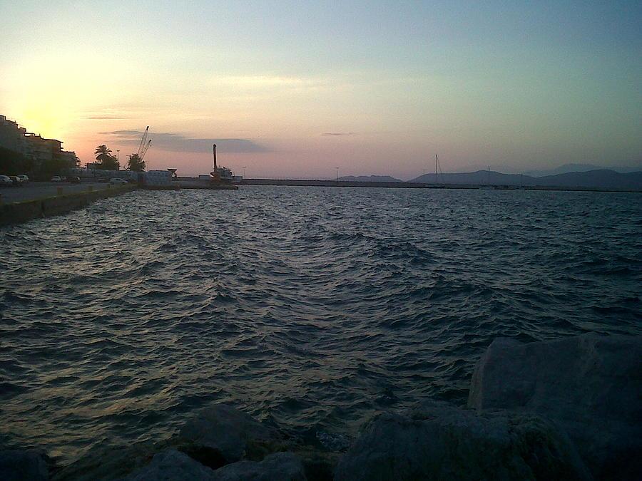 Mediteranean Sunset Photograph
