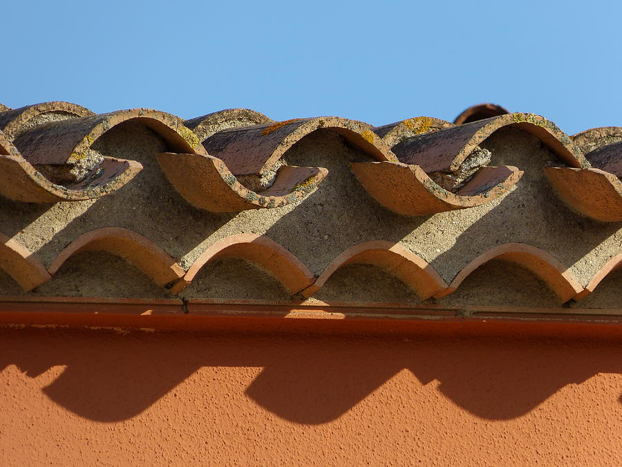 Mediterranean Roof Photograph