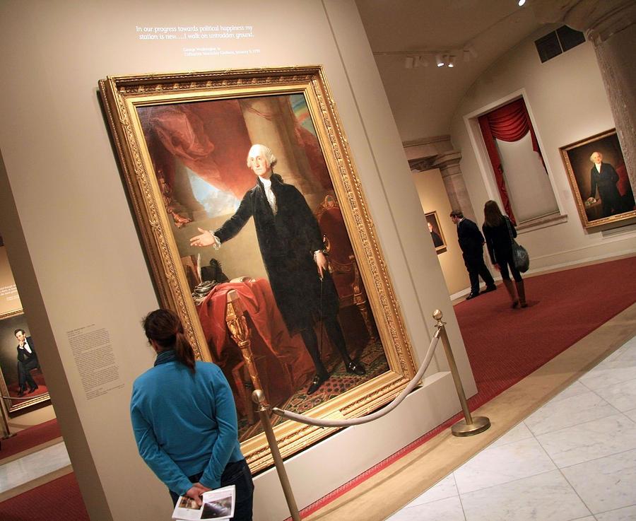 Meeting George Washington Photograph