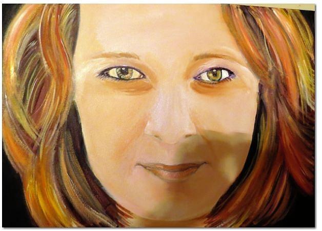Painting - Melisa by Ferid Sefer