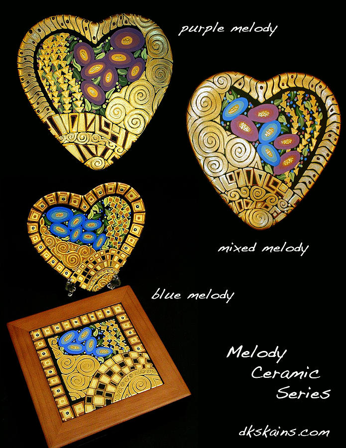 Melody Series Ceramic Art