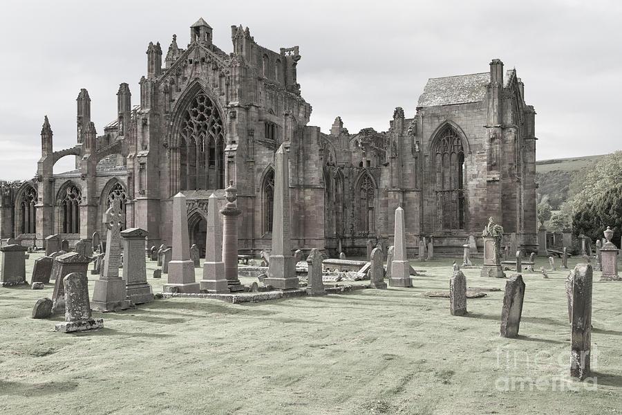 Melrose Abbey Photograph