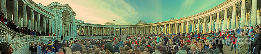 Memorial Amphitheater At Arlington National Cemetery Photograph