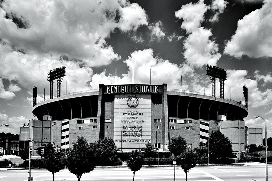Memorial Stadium Photograph  - Memorial Stadium Fine Art Print